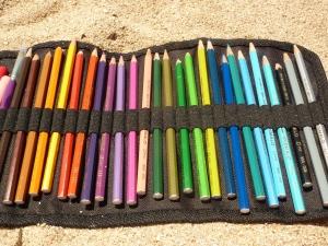 La sabbia e la rieducazione della scrittura